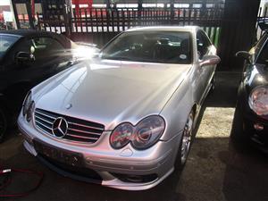 2009 Mercedes Benz CLK 55 AMG cabriolet