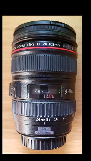 Canon 24-105 F4 L IS USM lens