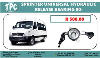Mercedes Sprinter Universal Hydraulic Release Bearing 00- For Sale at TPC
