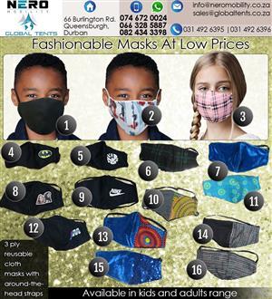 Kiddies Masks