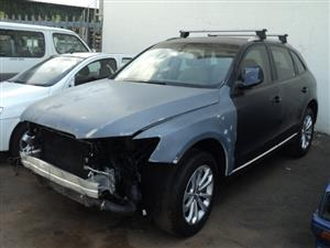 2013 AUDI Q5 2.0TDI WITH PAPERS CODE 2 REBUILD