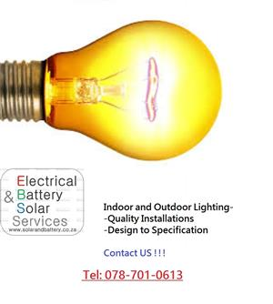LED and Security Lights Installation Service - Residential,Office,Indoor and Outdoor