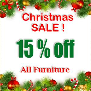 Christmas Sale 15% off all Baby and Children's Furniture.