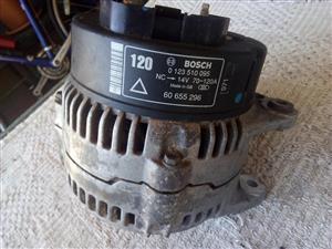 Alfa 156 Bosch alternator, NC-14V 70-120A