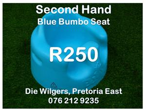 Second Hand Blue Bumbo Seat