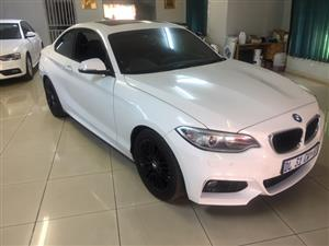 2015 BMW 2 Series coupe 220i M SPORT A/T(F22)