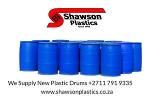 New Plastic Drums for Sale