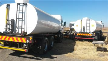 Water truck browser 18000L new tank Nissan ud460