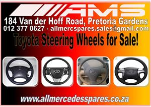 TOYOTA STEERING WHEEL FOR SALE