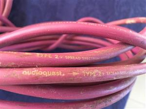 AudioQuest Type 2+ Speaker Cable - 2 lengths of 5m each - The easiest way to improve your audio quality!