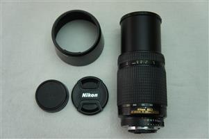 Nikon 70-300mm f/4-5.6D ED Auto Focus Nikkor SLR Camera for Bodies with build in focus motor
