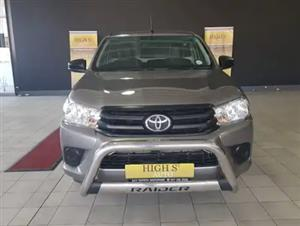 2017 Toyota Hilux single cab HILUX 2.0 VVTi P/U S/C