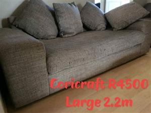 Coricraft couch.