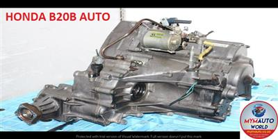 IMPORTED USED HONDA B20B AUTOMATIC GEARBOX FOR SALE AT MYM AUTOWORLD