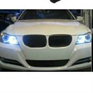 BMW E90 LED ANGEL EYE RING HEADLIGHT GLOBES