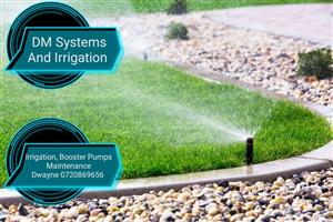 Irrigation, Tanks, Booster Pumps and maintenance