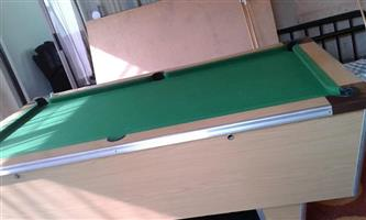 Union Billiard Coin operated pool table