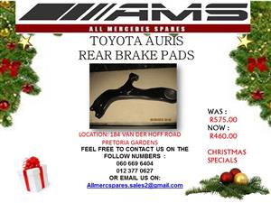 CHRISTMAS SPECIALS !!! TOYOTA YARIS CONTROL ARM FOR SALE
