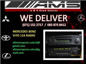 MERCEDES BENZ VITO 116 RADIO FOR SALE
