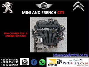 Mini cooper t50 1.6 engine for sale
