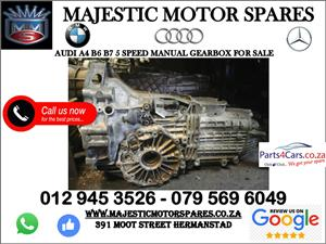 Audi A4 B6 gearbox for sale