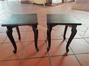 Coffee Tables - Dark Wood - Set - New