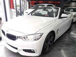 2016 BMW 4 Series convertible 420i CONVERT M SPORT A/T (F33)