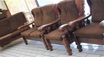 5 piece lounge suite S031997A #Rosettenvillepawnshop