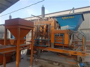 Horpre Block making machine.  Model Nova 51 and Nova 54.