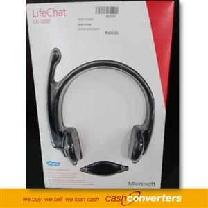 Life Chat LX-1000 Skype Microsoft Headphones