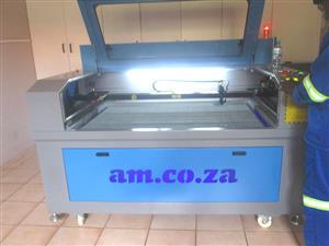 LC-1810/D100 TruCUT Standard Range 1800x1000mm Cabinet, Conveyor Table, Double Laser Head