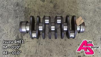 Used Isuzu 4HE1 crankshaft for sale!