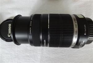 Canon EOS SLR Lens EFS 55 – 250mm image Stabilizer lens