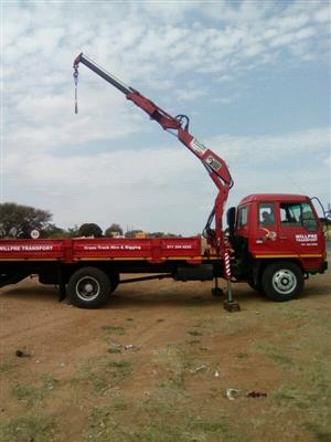 8 Ton Crane Truck for Hire