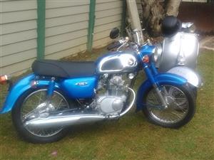 1969 Honda Twin 175cc