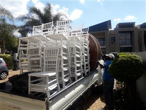 Cutlery, Tiffany chairs, Tables, Crockery, Cocktail tables, Tents, Bar stools 0737356930