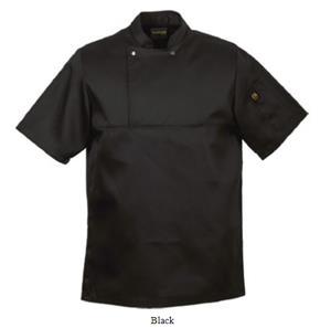 Chef Jacket Black - Figo Utility Top