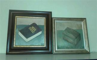 Bible and Box painting