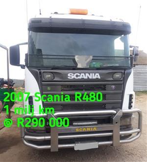 2007 Scania R480