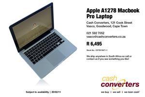 Apple A1278 Macbook Pro Laptop