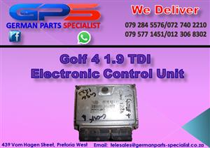 VW Golf 4 1.9 TDI Electrical Control Unit for Sale