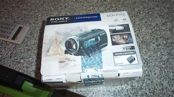 Sony Handycam camera with Projector