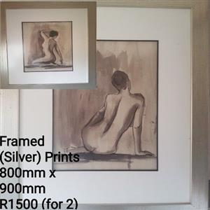 Framed Prints x2