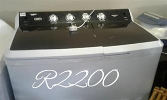 Defy top loader washing machine