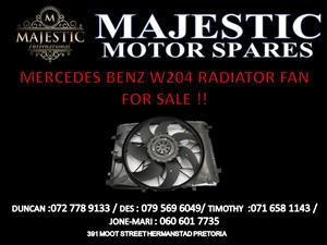 MERCEDES BENZ W204 RADIATOR FAN