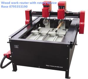 Wood legs and statues engraving and cutting machine