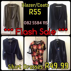 Fashion SALE | Blazer | Shirts | Tops | Dresses