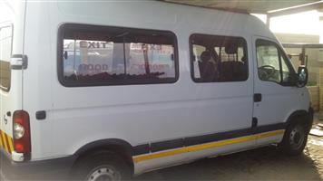 NISSAN INTERSTAR BODY ON WHEELS