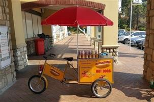Profitable catering bicycle