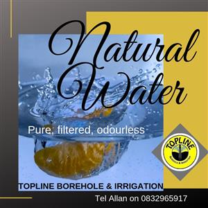 Municipal chemicals versus Natural filters for pure, clean water, Gauteng